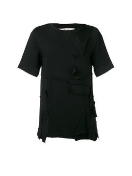 Damir Doma distressed T-shirt - Black