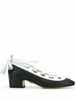 Thom Browne Ghillie low-heel pumps - Black