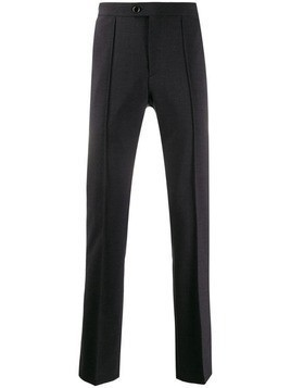 John Varvatos tailored straight leg trousers - Grey