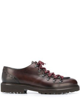 Doucal's Phil lace-up Derby shoes - Brown