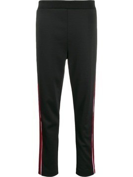 Escada Sport stripe detail trousers - Black