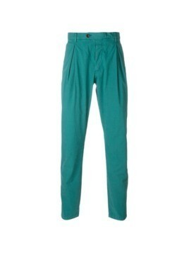 Al Duca D'Aosta 1902 pleated trousers - Green