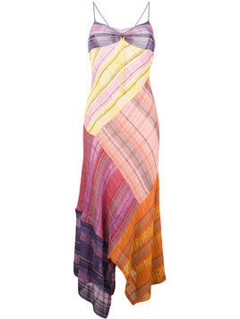 Peter Pilotto check patchwork dress - Multicolour