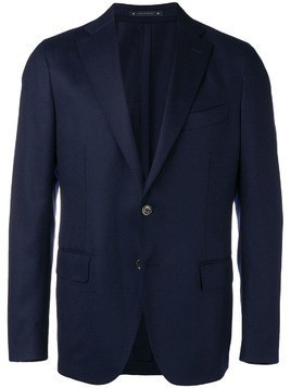 Bagnoli Sartoria Napoli single breasted blazer - Blue