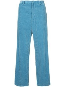 08Sircus corduroy straight-fit trousers - Blue