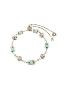 Marchesa Notte beaded filigree bracelet - Blue