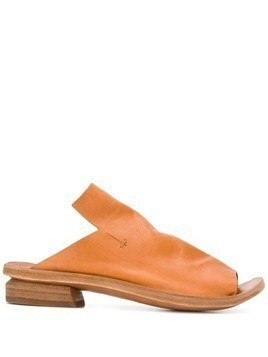 Officine Creative cut-out sandals - Orange