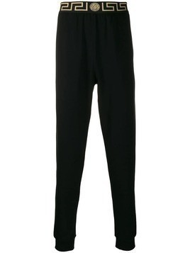 Versace greca border track pants - Black
