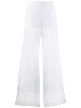 Daizy Shely broderie anglaise trousers - White
