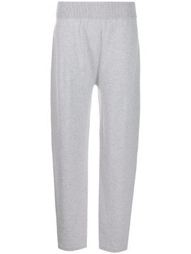 Agnona knitted trousers - Grey