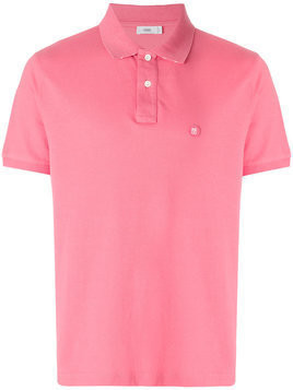 Closed - classic polo shirt - Herren - Cotton - M - Pink & Purple