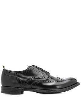 Officine Creative Anatomia 77 lace-up brogues - Black