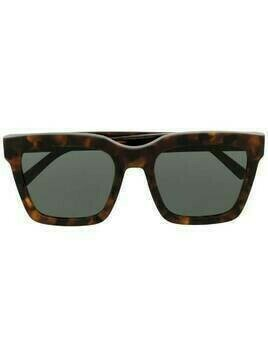 Retrosuperfuture tortoiseshell-effect square-frame sunglasses - Brown