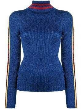 Hilfiger Collection contrast glitter jumper - Blue