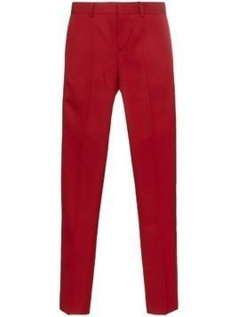 GmbH slim-fit trousers - Red