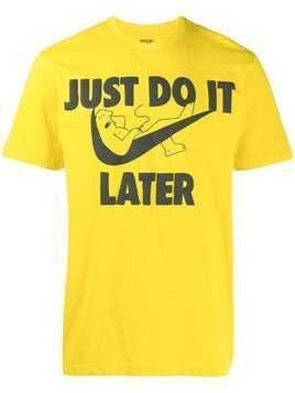 Chinatown Market Do It Later T-shirt - Yellow