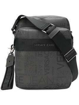 Versace Jeans logo shoulder bag - Grey