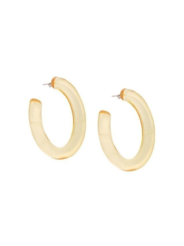 Lizzie Fortunato Jewels Rome hoops - Yellow