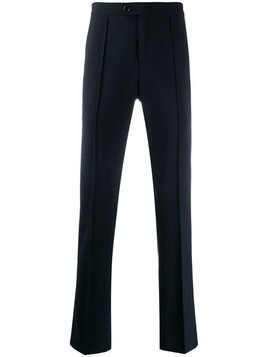 John Varvatos seam detail tailored trousers - Blue