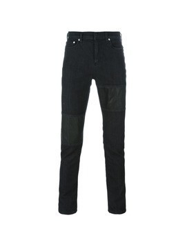 Neil Barrett panelled jeans - Black