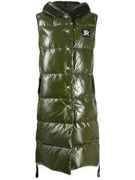 John Richmond Passenger long gilet - Green