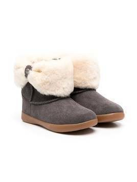 UGG Kids shearling ankle boots - Grey