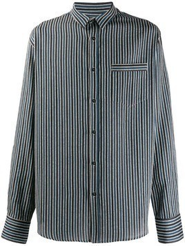 Christian Pellizzari striped shirt - Blue