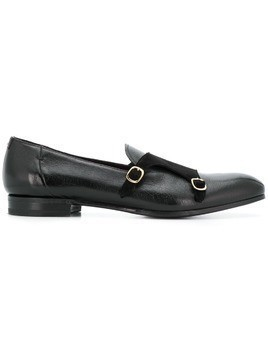 Lidfort buckle detail loafers - Black