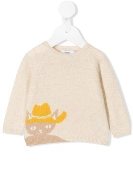 Knot Abigale The Cat sweater - NEUTRALS