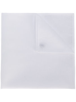 Alessandro Gherardi pocket square - White