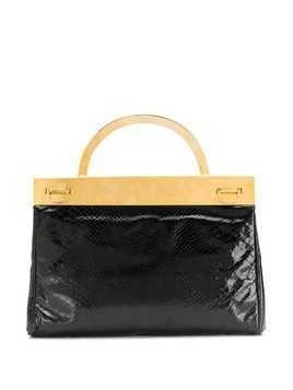 A.N.G.E.L.O. Vintage Cult 1960's metallic structure varnished tote - Black