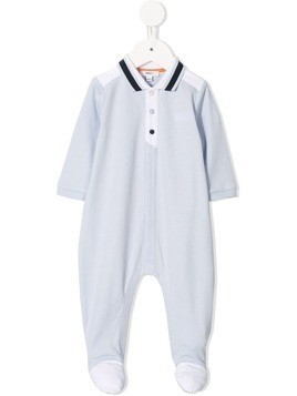 Boss Kids panelled pyjamas - Blue