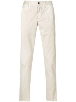 Incotex - straight leg trousers - Herren - Cotton/Spandex/Elastane - 30 - Nude & Neutrals