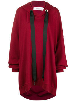Marques'almeida oversized hoodie - Red