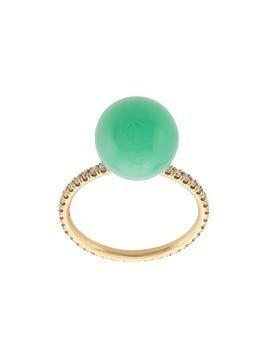 Irene Neuwirth 18kt yellow gold chrysoprase ring - Green