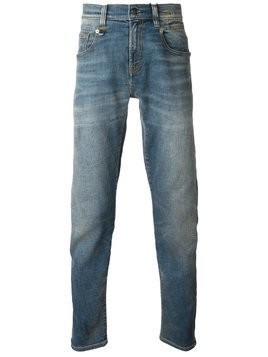 R13 faded straight leg jeans - Blue