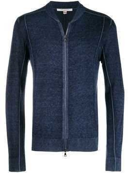 John Varvatos zipped-up jacket - Blue