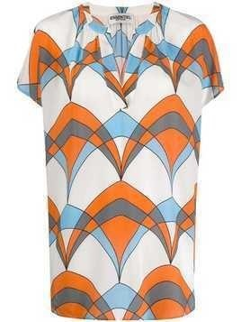 Essentiel Antwerp Tince kaftan top - White