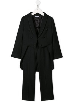 Dolce & Gabbana Kids tail blazer two-piece suit - Black
