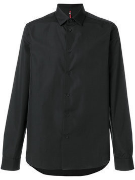 Oamc - plain shirt - Herren - Cotton - M - Black