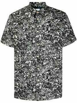PS Paul Smith Crowd short-sleeve shirt - Black