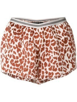 Love Stories relaxed shorts - Brown