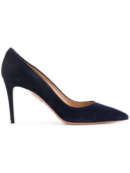 Aquazzura pointed stiletto pumps - Blue