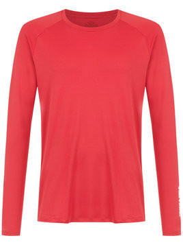 Track & Field long sleeved t-shirt - Red