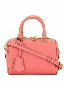 Louis Vuitton 2016 pre-owned Speedy 20 Bandouliere - PINK