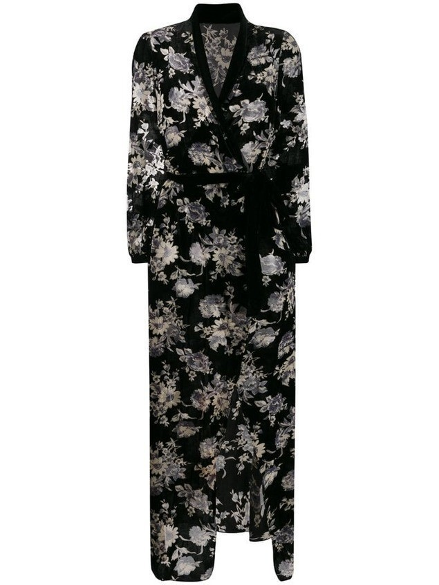 Myla Hyde Park long gown - Black