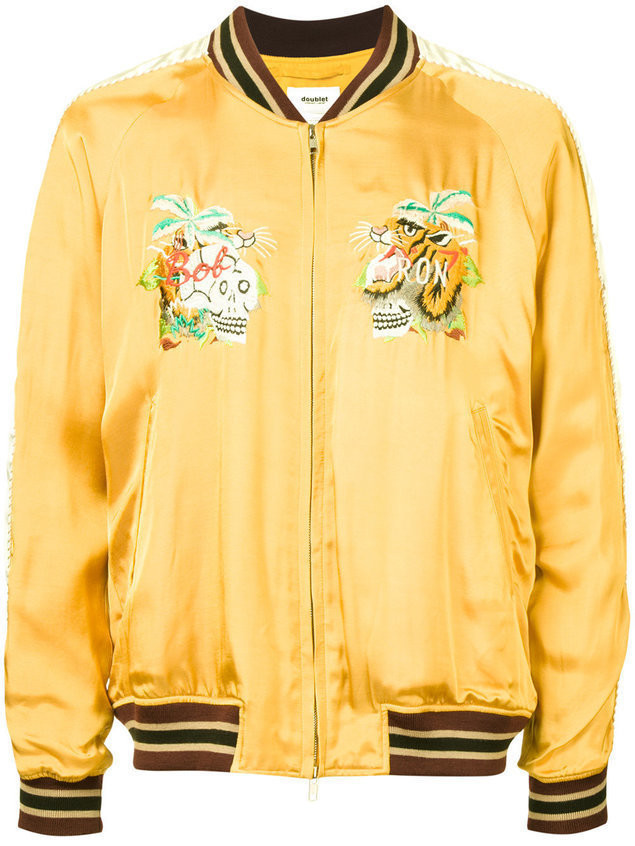 Doublet embroidered jacket - Yellow