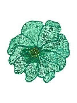 Racil flower brooch - Green