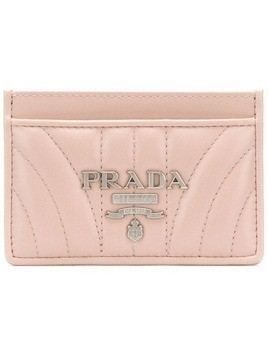 3cd680a1316ce Prada quilted logo wallet - Pink   Purple