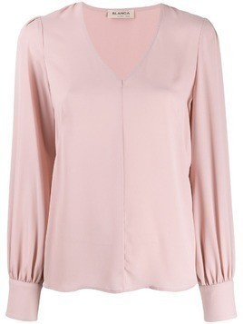 Blanca loose-fit blouse - Pink
